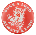 Once a Lobo Sports Button Museum