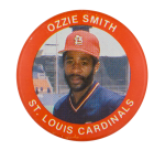 Ozzie Smith St. Louis Cardinals Sports Button Museum