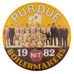 Purdue Boilermakers Sports Button Museum