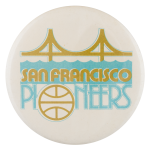 San Francisco Pioneers Sports Button Museum