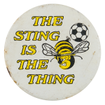 Sting is the Thing Sports Button Museum