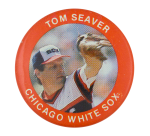 Tom Seaver Chicago White Sox Sports Button Museum