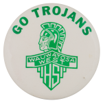 Wauwatosa West High School Schools Button Museum