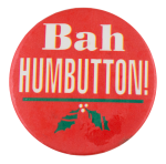 Bah Humbutton Self Referential Button Museum