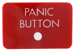 Panic Button with button Self Referential Button Museum