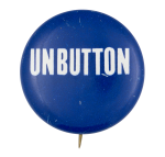 Unbutton Blue and White Self Referential Button Museum