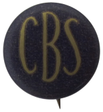 Columbia Broadcasting System Entertainment Button Museum