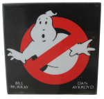Ghostbusters Square Entertainment Button Museum
