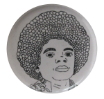 Nathan McKee's Michael Jackson Art Button Museum